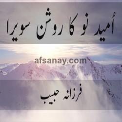 umeed e no ka roshan sawera Cover Photo